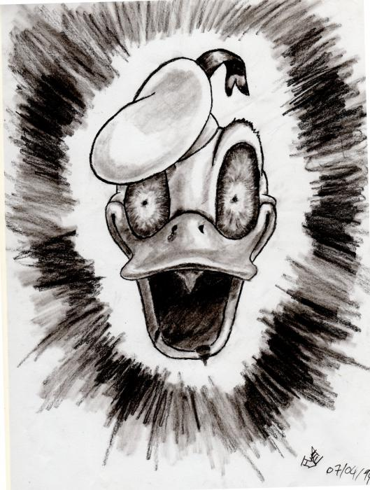 Donald Duck by Flave